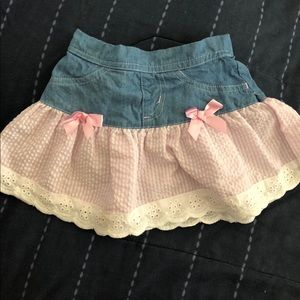 Other - Cute Baby Girl Jean Skirt